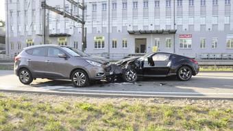 Kollision bei Usego-Kreuzung in Olten