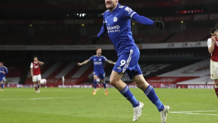 Jamie Vardy ist zurück und trifft für Leicester City zum Sieg