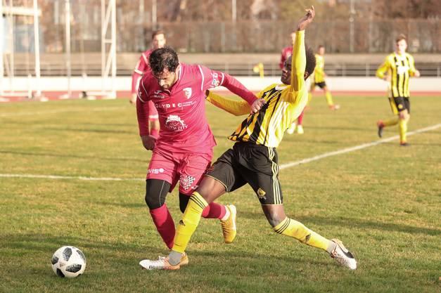 Sie gewinnen gegen den FC Biel mit 3:0.