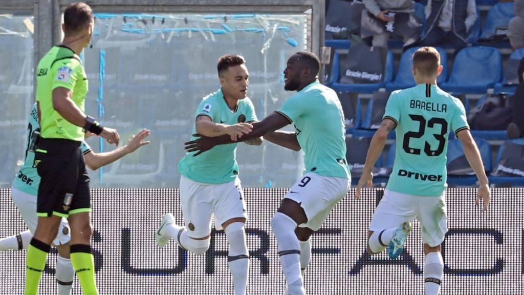 Inter bleibt Juve mit Auswärtssieg auf den Fersen