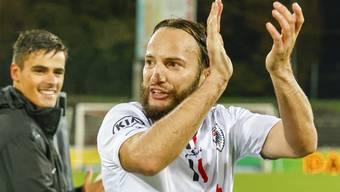 Gashi ist beim FCA mittlerweile treffsicherer Stürmer und Anführer der jungen Spieler