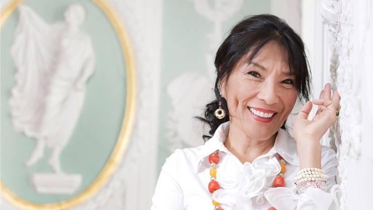 Dechen Shak-Dagsay, Sängerin und Brückenbauerin zwischen Ost und West.Caroline Minjolle