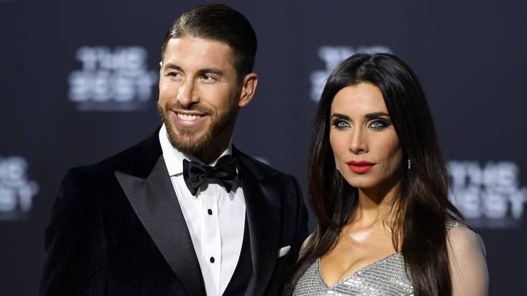 Sergio Ramos mit seiner Partnerin Pilar Rubio.