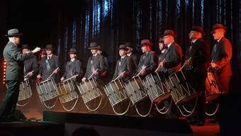 Der Tambourenverein Erlinsbach stellte unter der musikalischen Leitung von Reto Käser in der Kretzhalle sein vielseitiges Können unter Beweis.