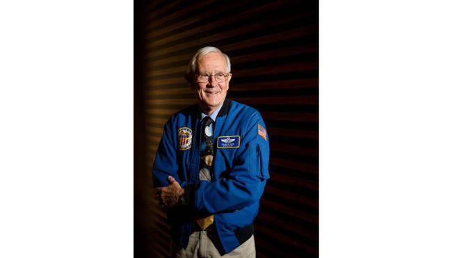 Der Mond war Charlie Duke genug, auf eine Mars-Reise würde er heute verzichten: «Ich habe neun Enkelkinder. Der Gedanke, sie eineinhalb Jahre nicht zu sehen, gefällt mir nicht.» Foto: Sandra Ardizzone