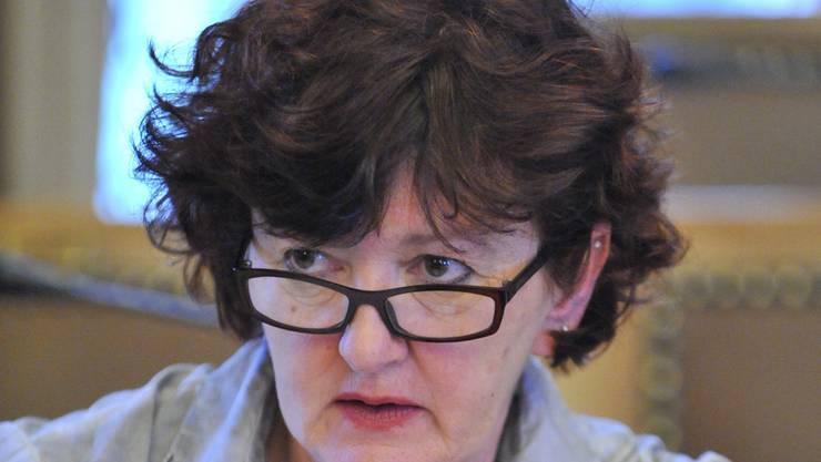 Wiedergewählt: Präsidentin Iris Schelbert. (Archiv)