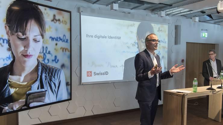 Markus Naef, CEO der SwissSign Group, wirbt für die einheitliche digitale Identität für die Schweiz.