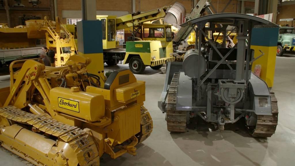 Baggermuseum Ebianum / Die schützende Hand über das heilige Blech / Baugrube auf dem Zürichberg