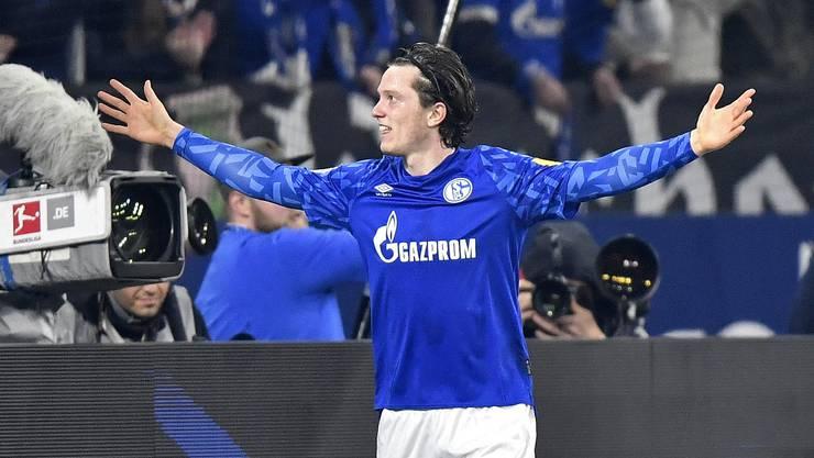 Ein Tor, ein Assist beim Debüt für Schalke: Michael Gregoritsch.