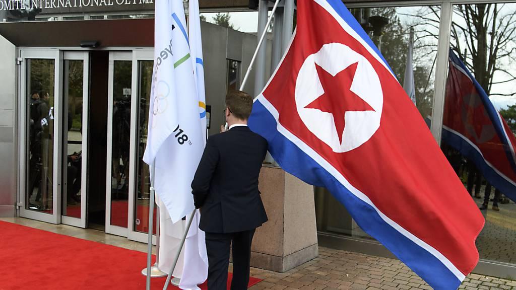 Nordkorea nimmt nicht an den Olympischen Spielen in Tokio teil