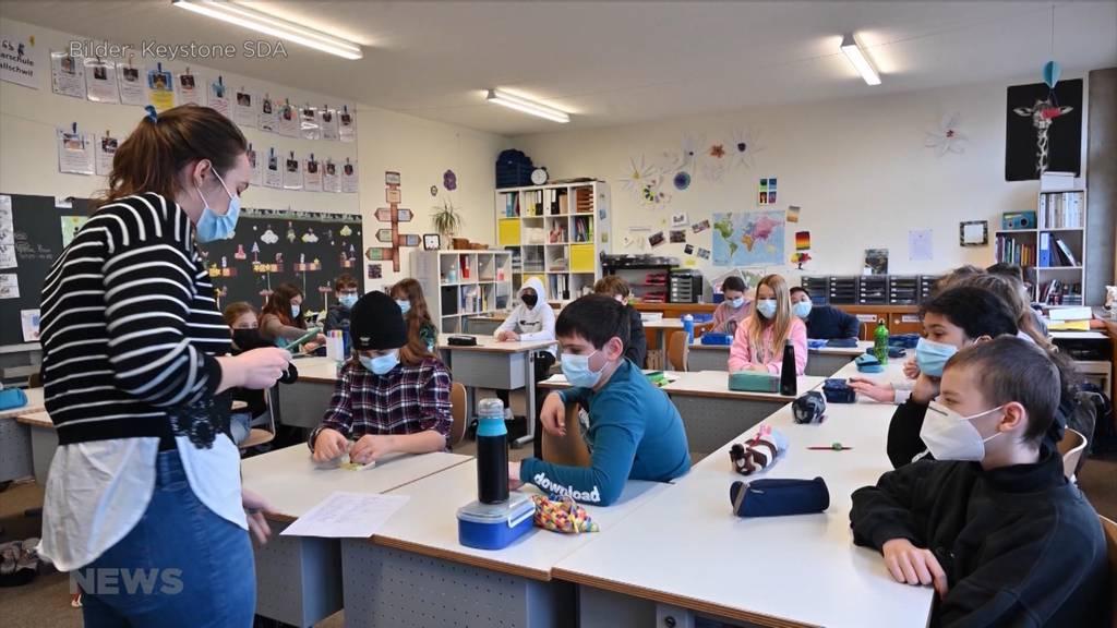Maskenpflicht ab der 5. Klasse: Massnahme wird begrüsst, um Schulschliessungen zu verhindern