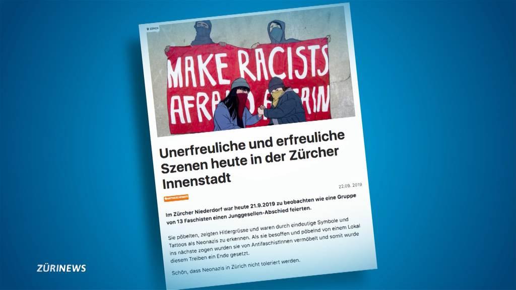 Linksextreme bekennen sich zu Attacke im Niederdorf