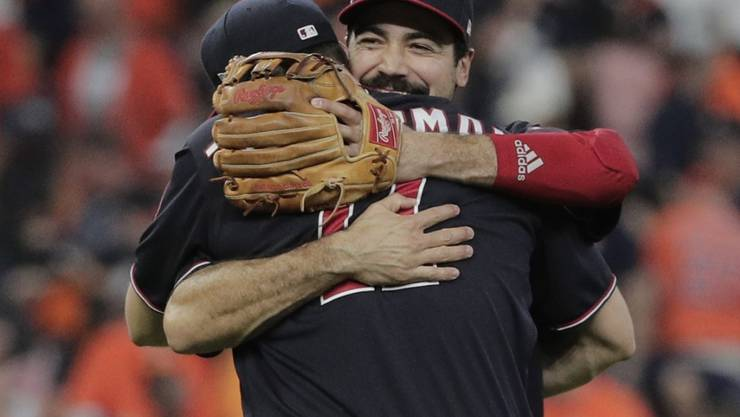 Die Washington Nationals träumen vom ersten Sieg in den World Series