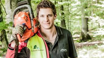David Henzmann hat im Wald bei Siglistorf das Video gedreht, das momentan für Aufsehen sorgt.