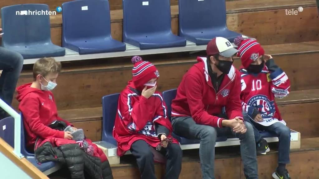 Eishockey mit Maskenpflicht