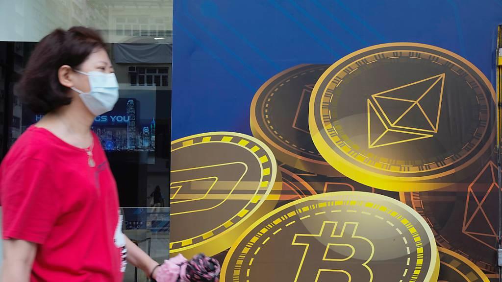 Bitcoin nach Anstieg zeitweise wertvoller als Schweizer Franken