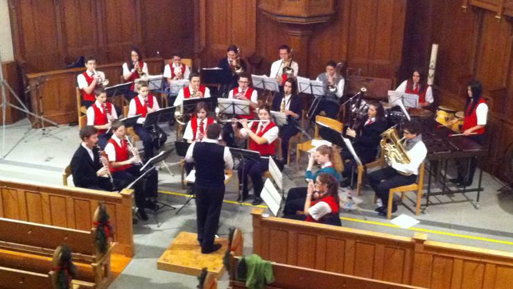 Das Spiel der Jugendmusik Allegro Region Baden
