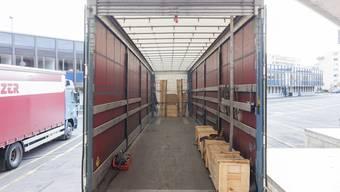 Hochbetrieb: In den letzten Wochen und Monaten lief es rund im Logistikzentrum der Planzer Transport AG.