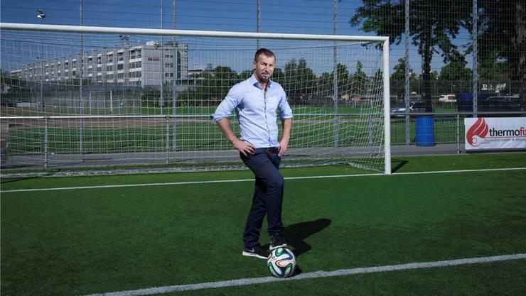 Sportchef und Bauunternehmer: Mehid Topalli auf der Bodenweid.