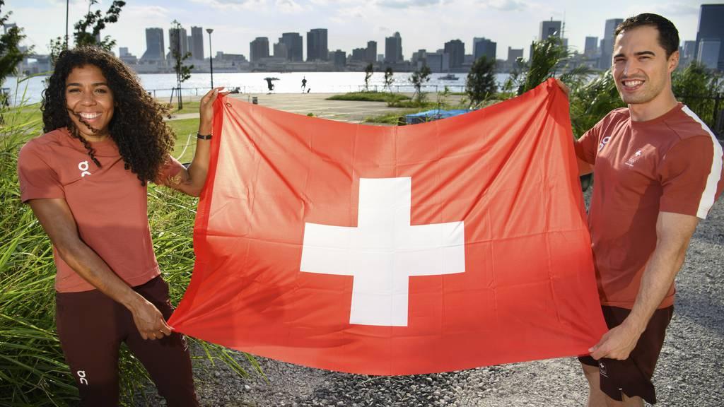 Max Heinzer: «Freue mich extrem, Fahnenträger für die Schweiz zu sein!»