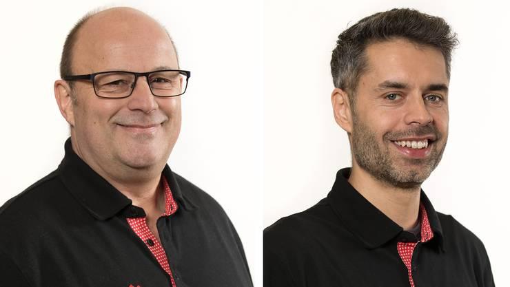 Markus Niederer und Ronald Studer