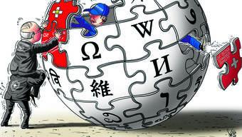Bundesbeamten schaffen sich ihre Wikipedia-Welt.
