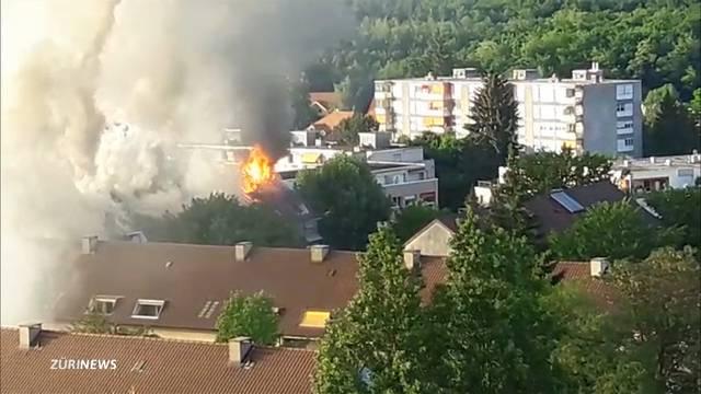 30 Wohnungen betroffen: Grossbrand in Bethlehem