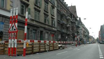 Die Weststrasse mausert sich zur gehobenen Wohnlage.