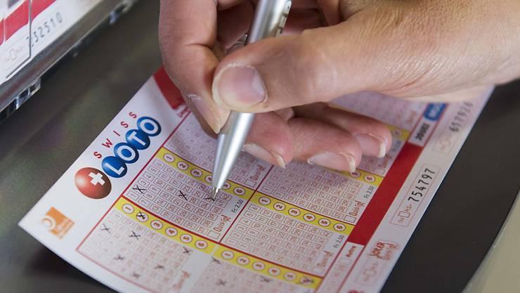 Der Lotto-Jackpot ist geleert: Ein Mitspielender gewann 19,5 Millionen Franken. (Archivbild)