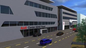 So wird der geplante Asag-Neubau an der Reinacherstrasse aussehen.