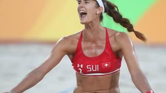 Joana Heidrich feiert einen gelungenen Start in Gstaad