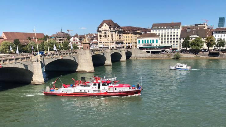 Die Feuerwehr im gemeinsamen Einstaz mit der Kantonspolizei und der Zollverwaltung.