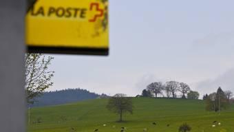 Die Poststellenstandorte werden in der Region Baden weniger (Symbolbild).
