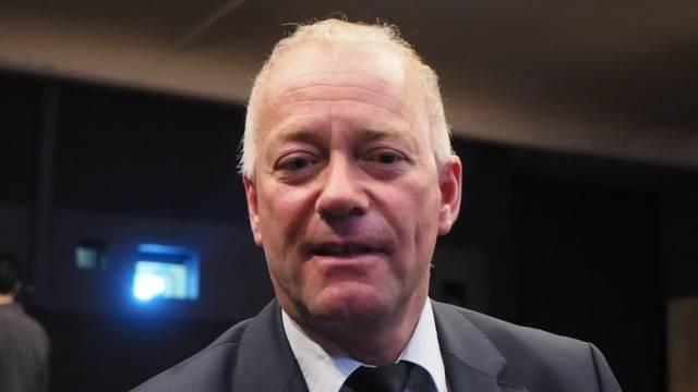 Wings for life: Stadtpräsident Martin Wey