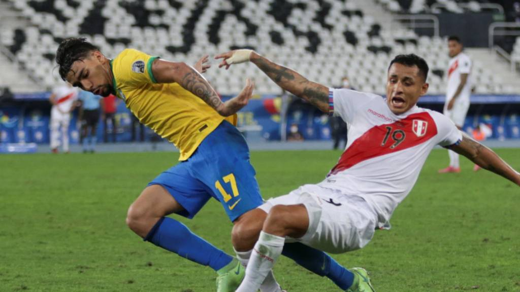 Brasilien erster Copa-America-Finalist
