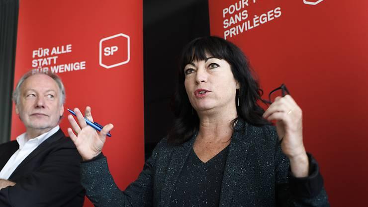 SP-Ständerätin Géraldine Savary und ihre Partei fordern, dass die Politik die Kontrolle über die staatsnahen Betriebe zurück erhält.