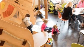Das Familienzentrum Karussell ist bei Eltern und Kindern beliebt. 31 000 Besucher zählte es 2017.