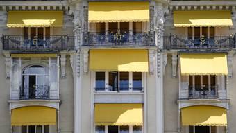 Das Fairmont Le Montreux Palace: In städtischen Regionen steigen die Logiernächte besonders stark an.
