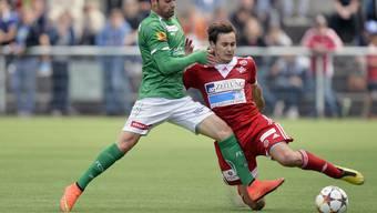 Für den FC Baden wird es nächstes Jahr keine Cup-Auftritte geben. Bild: Cupspiel gegen St.Gallen