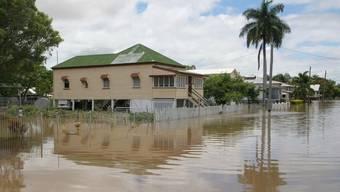 Überschwemmungen im australischen Rockhampton
