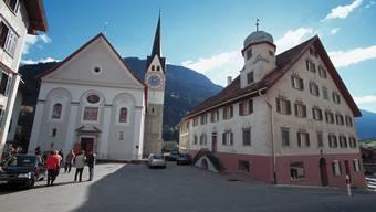 Trun, im westlichen Bündnerland gelegen, ist eine Patengemeinde von Geroldswil.