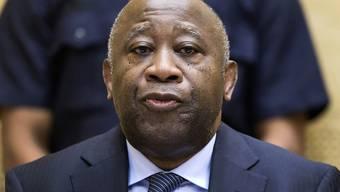 Der Internationale Strafgerichtshof muss erneut über eine vorläufige Haftentlassung von Laurent Gbagbo, dem ehemaligen PRäsidenten der Elfenbeinküste, entscheiden. (Archiv)