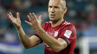 Arjen Robben spielt seit 2009 im Dress von Bayern München
