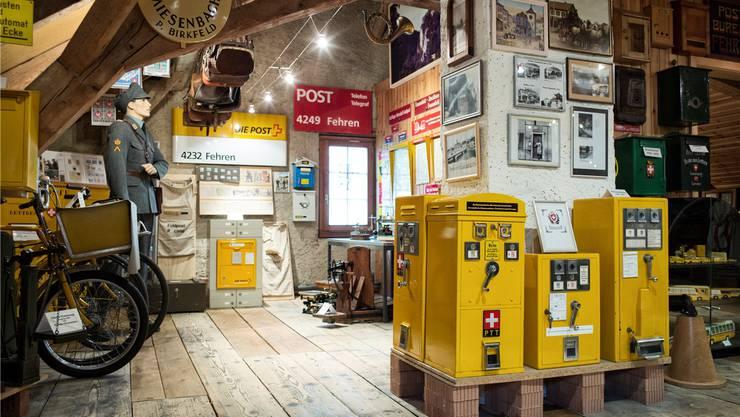 Das Landpostmuseum Schwarzbubenland zeigt postalische Objekte aus der Region und der ganzen Welt. Roland Schmid
