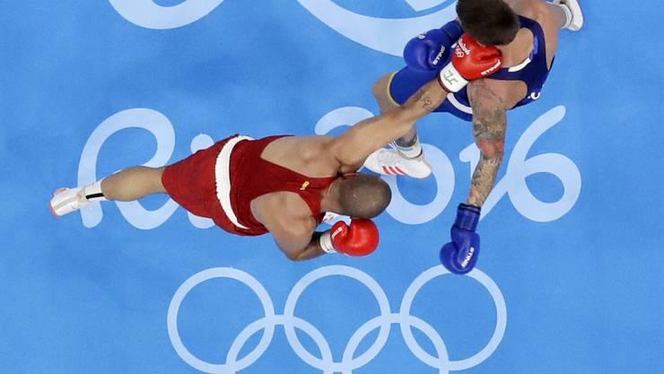 Zwei Boxer an den Olympischen Spielen 2016 in Rio de Janeiro