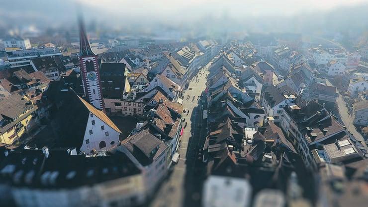 Im Wahlkreis Liestal, im Bild Liestals Altstadt, sind Überraschungen bei den Wahlen Ende März schon fast Programm.