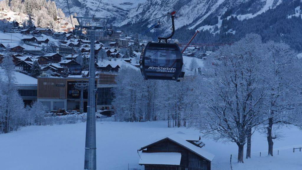 Erster Teil des V-Bahnprojekts im Jungfraugebiet eröffnet