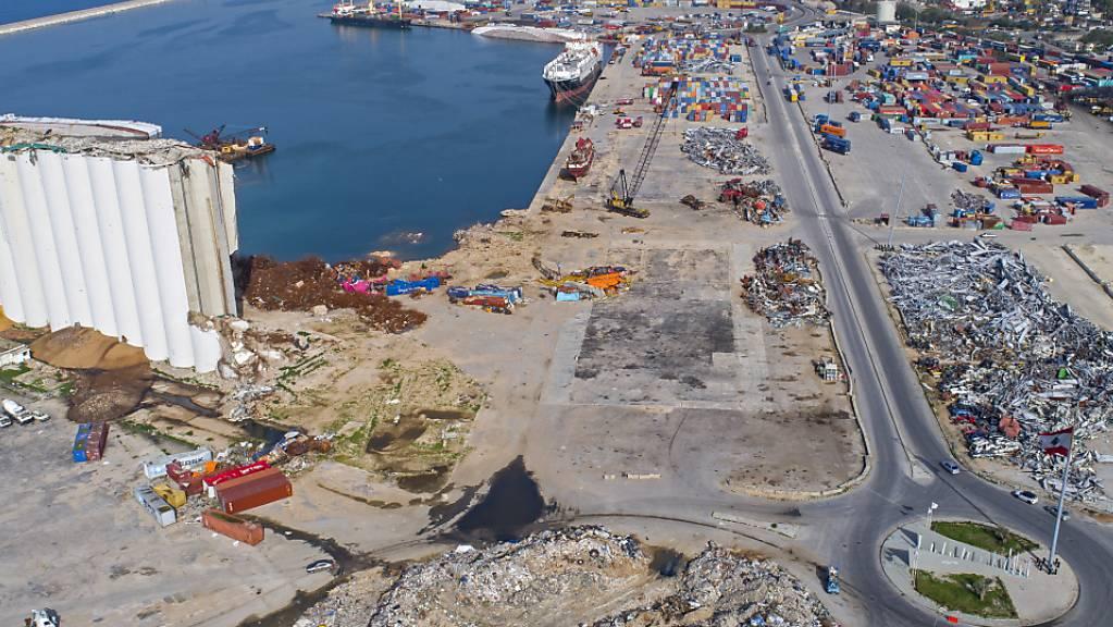 Bei einer Explosion im Norden des Libanon sind über 20 Menschen zu Tode gekommen. Vor einem Jahr waren bei einer Explosion im Hafen von Beirut über 200 Personen gestorben. (Archivbild)