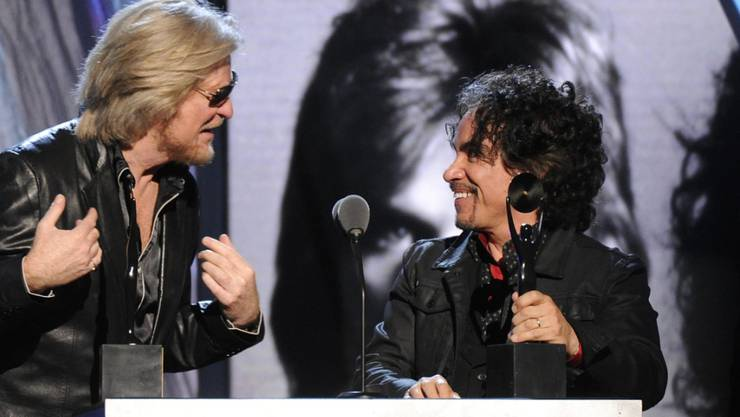 Werden mit einem Stern in Hollywood geehrt: Musiker Daryl Hall (links) und John Oates. (Archivbild)