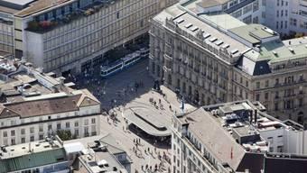 Paradeplatz in Zürich (Archiv)
